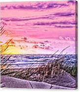 Filtered Beach Canvas Print