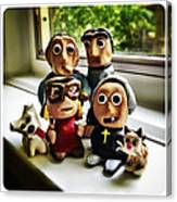 Fimo Family Canvas Print
