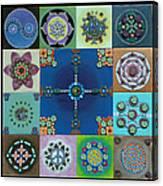 Fimo Mandala Canvas Print