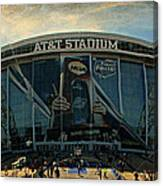 Finals Madness 2014 At Att Stadium Canvas Print