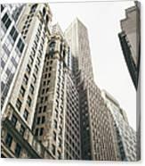 Financial District, New York City Canvas Print