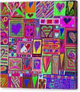 find U'r love found v5 Canvas Print