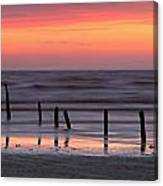 Fine Art Sunset Somerset England Canvas Print