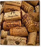 Fine Wine Corks Canvas Print