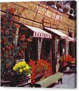 Fine Wine For Launch Italian Restraunt Bistro Jeanty Canvas Print