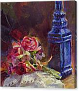 Finer Things Still Life By Karen Whitworth Canvas Print