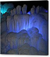 Finger Ice Canvas Print