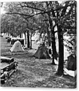 Finger Lakes Camping Canvas Print
