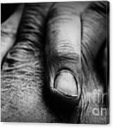 Fingers Canvas Print