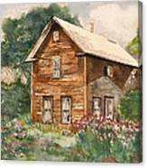 Finlayson Old House Canvas Print