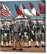Finley's Brigade Canvas Print