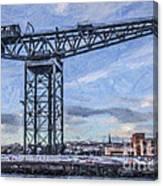 Finnieston Crane Glasgow Canvas Print