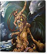 Finsurrection Wip Canvas Print