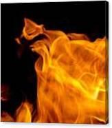Fire 006 Canvas Print