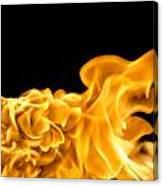 Fire 016 Canvas Print