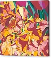 Fire Bouquet Canvas Print