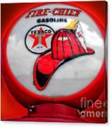 Fire Chief Gasoline Globe Canvas Print