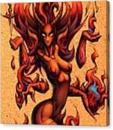 Fire Canvas Print