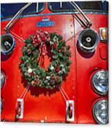 Fire Department Christmas 1 Canvas Print