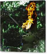 Fire Eater Canvas Print