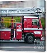 Fire Engine Canvas Print