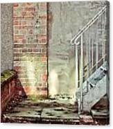 Fire Escape Stairs Canvas Print