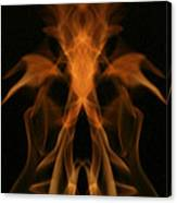 Fire Ghost Canvas Print