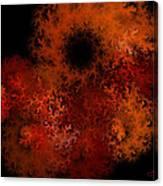Fire Hole Canvas Print