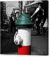 Fire Hydrant From Little Italy Canvas Print