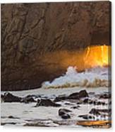 Fire In The Hole Canvas Print