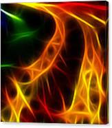 Fire Of Life Canvas Print