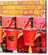 Fire Safety Canvas Print