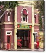 Fire Station Main Street Disneyland 02 Canvas Print