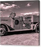 Fire Truck Too Canvas Print