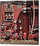 Fire Truck Valves Canvas Print