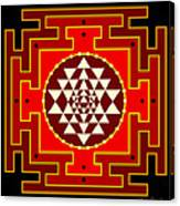 Fire Yantra Canvas Print