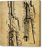 Firearm - Patented On 1907 Canvas Print