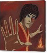 Firebending Canvas Print