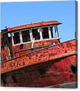 Fireboat Canvas Print