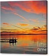 Firecracker Sunset Canvas Print