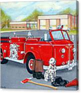Firefighter - Still Life Canvas Print