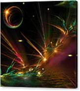 Fireflies Too Canvas Print