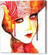 Fireflower Canvas Print