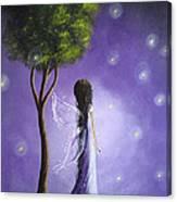 Original Fairy Art By Shawna Erback Canvas Print