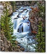 Firehole Falls Canvas Print