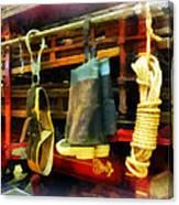 Fireman - Boots And Fire Gear Canvas Print