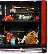 Fireman - Fire Fighting Supplies Canvas Print