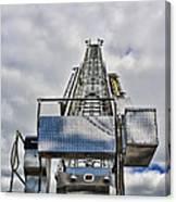 Fireman - Fire Ladder Canvas Print