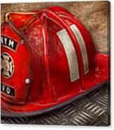 Fireman - Hat - A Childhood Dream Canvas Print