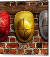 Fireman - Hats - Pick A Hat Any Hat  Canvas Print